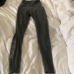 Beyond Yoga Bar Method Charcoal Leggings S Small